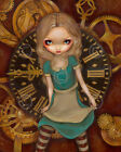 Alice and Clockworks by Jasmine Becket-Griffith Art Print Gothic Poster Fantasy