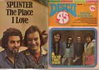 Disco 45 Songbook Magazine Words of Hit Songs Vintage 1970s £10 each (40 listed)