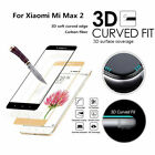 3D Curved Fit Tempered Glass Screen Protector Protection For Xiaomi Mi Max2 Lot