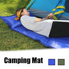 Single Outdoor Inflatable Air Mattresses Camping Sleeping Rafting Mat W/ Pillow