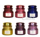 Village Candle New Metallics Small Jar Colourful Jars 6 Fragrances Choose From