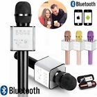 Karaoke Wireless Bluetooth Microphone&Speaker Singing Machine Player Mic USB TF