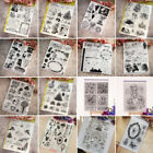 Внешний вид - Transparent Clear Silicone Rubber Stamp Cling DIY Diary Scrapbooking Card Decors