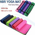Health and Fitness Extra Thick Long 183CM NBR Foam Yoga Mat Soft Exercise Pad