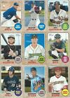 2017 Topps Heritage Minors Baseball cards - Pick the Players you Want !!
