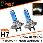 H7 100W HID WHITE XENON HALOGEN BULBS 12V PLASMA UPGRADE 5000K-6000K CHEVROLET