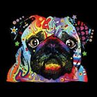 Pug Neon Size 2 X Large-7 X Large Mens Tank Tops