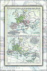 europe political map - Poster, Many Sizes; Political Map Of Europe, Situation As Of C. 526-600