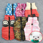 Pet Cat Dogs Padded Vest Harness Puppy Small Dog Warm Clothes Coats Apparel USA