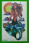 1 Sheet Water Transfer Temporary Tattoo Mermaid Beauty Deer Gypsy girl Hourglass