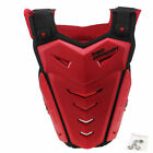 US Racing Motorcycle Body Armor Spine Chest Back Protective Vest Gear Knee Guard