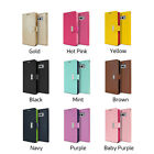 Card Slot Shockproof Soft Gel Bumper Leather Case for Samsung Galaxy S9 S8 /Plus