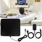 Digital USB Indoor Flat HD TV Antenna 50 Miles Range Signal 1080P HDTV USA