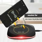 For LG G7 ThinQ G6 V30 V20 V10 Qi Wireless Fast Charger Charging Pad Stand Dock