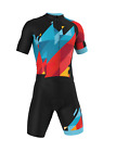 PRO Short Sleeve 'SUMMIT' Cycling Road Suit (Skinsuit) Made in Italy by GSG