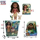 UK Singing Moana & Friends Action Figures Doll Light & Movie Song Kids Best Toys