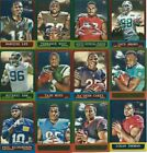 2014 Topps Chrome 1963 Mini Retro Reprint Football cards- Pick the ones you need