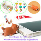 New Cable Bite iPhone Cord Accessory Prevents Breakage Protects 8 styles Animal