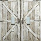Light Switch Plate Cover RUSTIC HOME DECOR DISTRESSED BARN DOOR WEATHERED WOOD