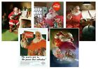Coca-Cola Father Christmas Santa Ad Dear Jimmy  Classic A5 A4 A3 Vintage Poster £2.99  on eBay