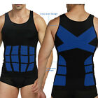 Men's T-Shirt Body Shaper Vest Abdomen Waist Compression Fit