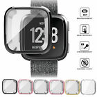 For Fitbit Versa Bands Fitness Designer Sleeve Case Plating Protective Cover US