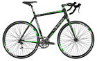 Viking Omnium 1.0 Gents 700C 14 Speed Road Racing Bike Bicycle 3 Sizes Black