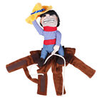 Dog Coat Jacket Cowboy Rider Costume Clothes Outfit Knight Style Pet Supplies