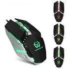 3200DPI 8D Buttons Fashion LED Mechanical Wired Gaming Mouse Mice For Computer