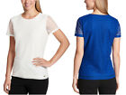 Calvin Klein Ladies' Stretch Textured Tee (SELECT COLOR / SIZE) *FREE SHIPPING*