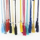 Tie Rope Chain Woven Tassel Belt Bowknot Decorated Waist Women Braided