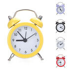 Twin Bell Alarm Clock Vintage Loud Clocks Battery Bedside Desk Analogue Quality