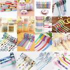 Washi Tape Paper Masking Tape Scrapbook Decorative DIY Adhesive Sticker Decor on eBay