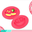 Cute Bowl Silicone Mat Baby Kids Child Suction Table Food Tray Placemat Plate DH