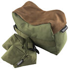 Nitehawk Olive Rifle/Air Gun Front And Rear Rest Bench Bag Hunting Shooting