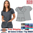 Внешний вид - Dickies Scrubs EDS SIGNATURE Medical Uniform Contemporary Mock Wrap Top(85820)