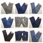 Levis 505 Straight Leg Stretch Womens Jeans Denim All Sizes All colors