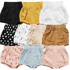 Toddler Kids Baby Girl Boy Cotton Shorts Bloomer Diaper Nappy Cover PP Pants S