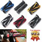 "Motorcycle 7/8"" Handlebar Hand Grips Rubber Gel for Yamaha YZF R1 R6 Suzuki GSXR $8.9 USD on eBay"