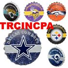 NFL Metal Distressed Bottle Cap Wall Sign-Pick Your Team- Free Shipping $22.99 USD on eBay