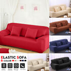 3 Seater L Shape Stretch Elastic Fabric Sofa Cover Loveseat Couch Slipcover USA