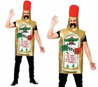 Tequila Vodka Beer Drinks Bottle Stag Night Party Mens Adult Fancy Dress Hot Dog
