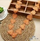 2 Yards Heart-shaped Lace pearl Beading decoration Sewing clothing accesories