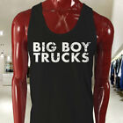 BIG BOY 4X4 TRUCKS TRUCK OFF ROAD SEMI VINTAGE Mens Black Tank Top