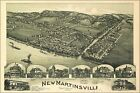 Poster, Many Sizes; Map Of New Martinsville, West Virginia 1899