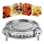 New Cookware Insulated Durable  Tray Shelf Stainless Steel Steamer Three-leg