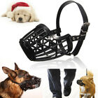 7 Size Small Large Medium Dog Basket Muzzle Mesh Cage No Barking Biting