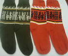 100% APACA WOOL SOCKS - 4 PAIRS, CHOOSE YOUR COLORS, ANDEAN, WARM, WINTER a