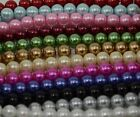 Jewellery Making 35 pieces 12mm Round Glass Pearl Beads - BUY ONE GET ONE FREE