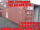 40 HC steel cargo shipping storage container Cleveland OH Ohio containers